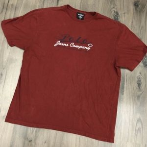 Vtg Ralph Lauren Polo Jeans Spell Out Mens T Shirt